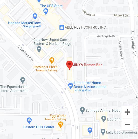 Map of Jinya 10740 S. Eastern Ave. #155 Henderson, NV 89052