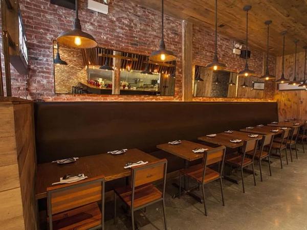 Jinya Ramen Bar The Domain Interior