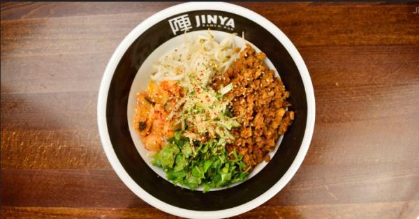 Jinya Ramen Bar small plat on table