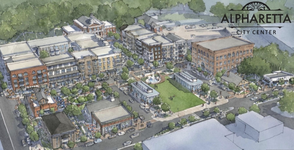 What Now Atlanta: Alpharetta City Center Nears 100 Percent Leased, First Restaurant Opening in June