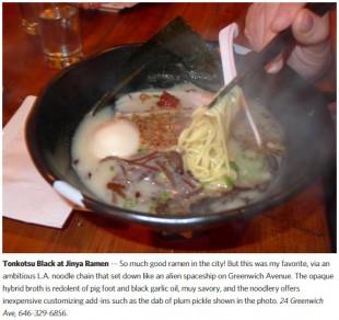 Eater New York: Sietsema's 15 Favorite Dishes of 2013
