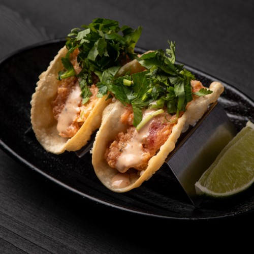 Click to expand image of Spicy Tuna Tacos (2 pcs).