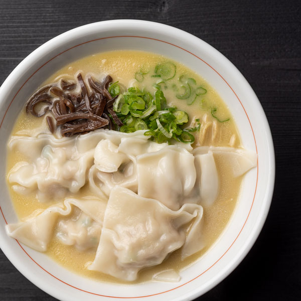 Click to expand image of Wonton Chicken Ramen.