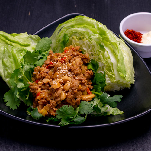 Click to expand image of Lettuce Wrap.