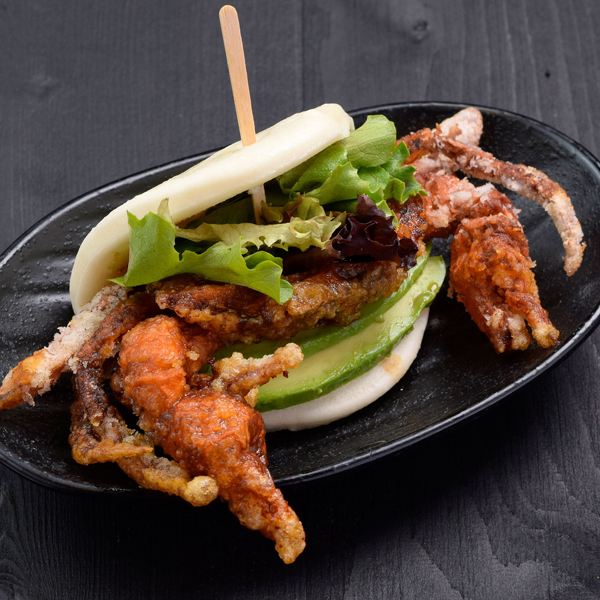Click to expand image of Soft Shell Crab Bun.