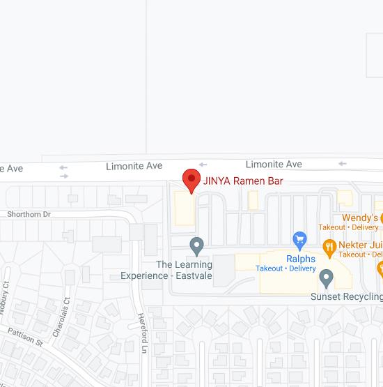 Map of Jinya 12768 Limonite Ave Eastvale, CA 92880