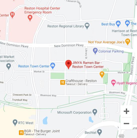 Map of Jinya 11964 Market St Reston, VA 20190