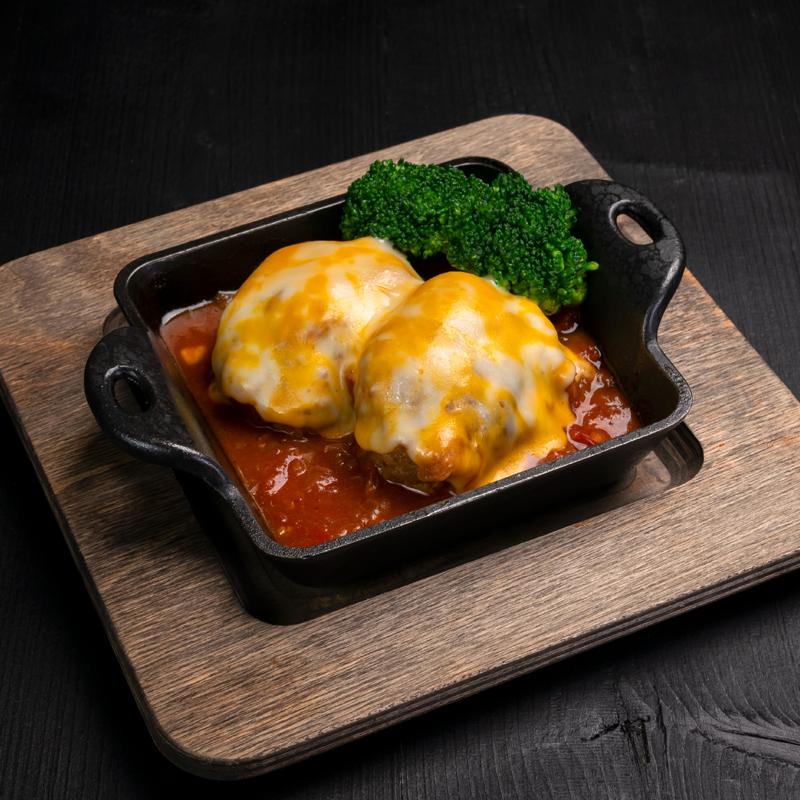 Click to expand image of KOBE Hamburger Steak.